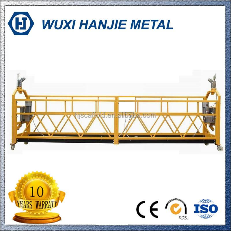 Industrial zlp 1000kg welding powered gondola aerial work platform price