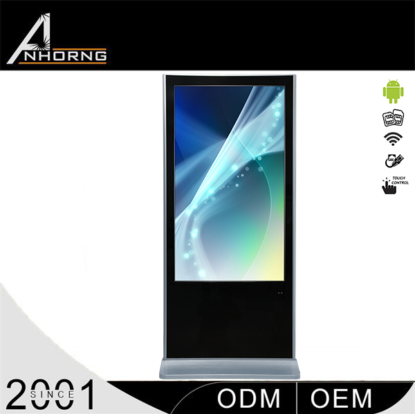 Factory price led display screen touch kiosk full sexy vedio android edition