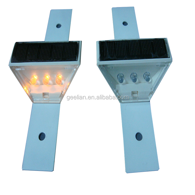 flexible delineator post /road delineator / double side trapeziform reflective delineator 50*70*120mm