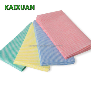 BSCI factory chemical bond non-woven J cloth for cleaning cloth
