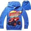 New 2015 boys t shirt t shirts kids baby Blaze And The Monster Machines children clothing