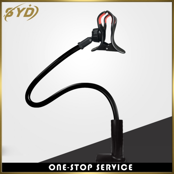 Multi-function Metal clipsmobile phone stand Telescopic hose phone stand Rotating phone holder