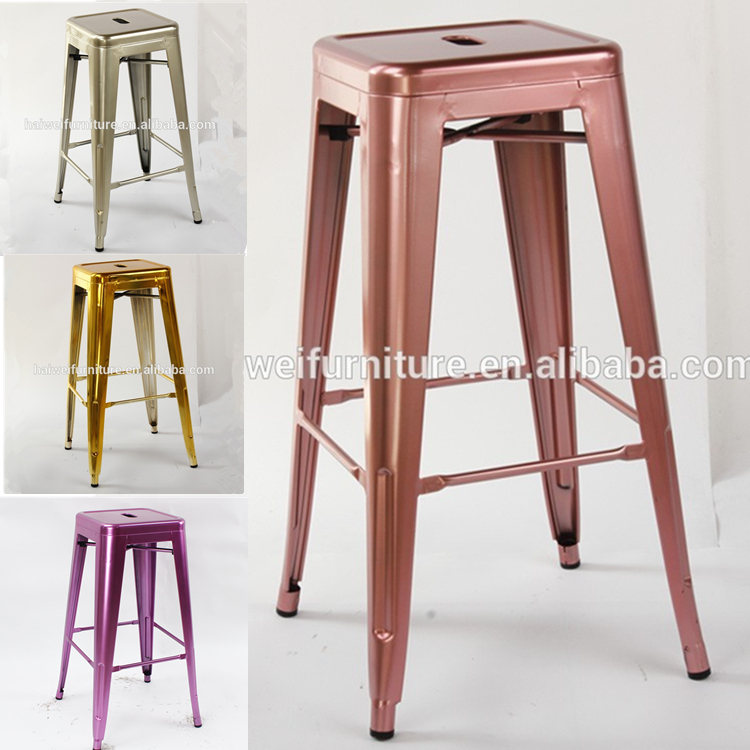 used metal bar stools