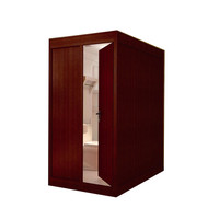 Prefabricated bathroom unit aluminum alloy shower enclosure with frame