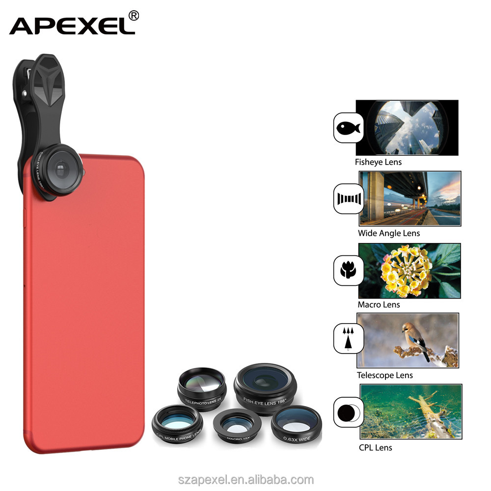 accessories phones oem lense 5 in1 smart gadgets and accessories for iPhone iPad