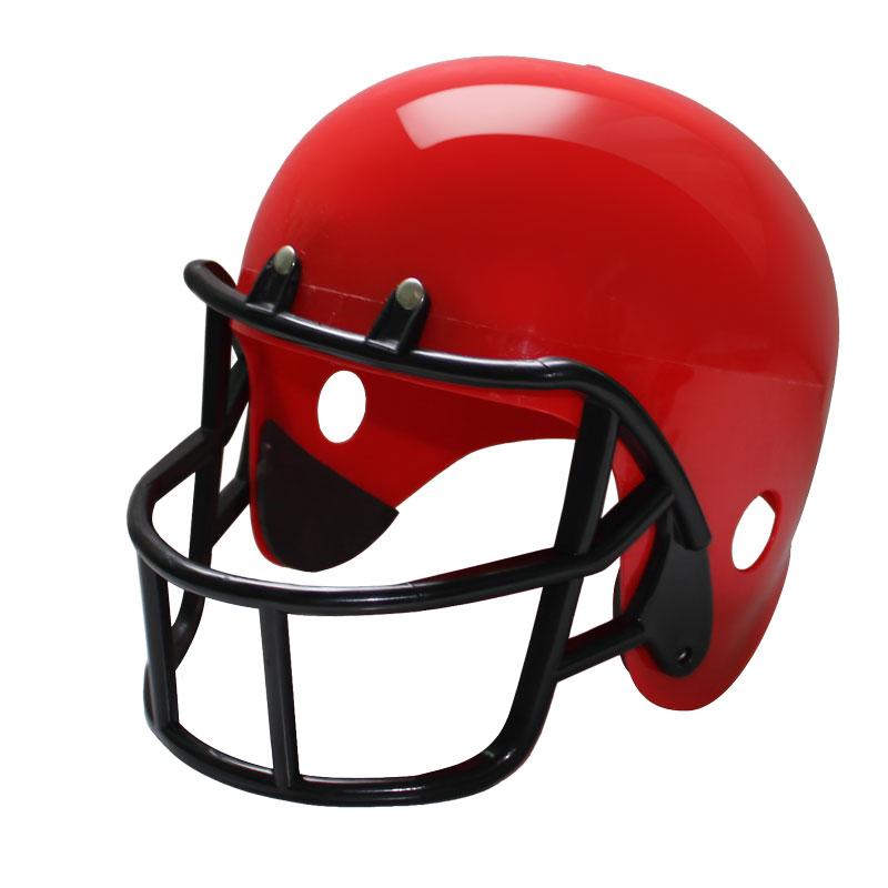 CASCO misura adulto FOOTBALL Americano Rosso giocattolo