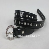western pu dress cheap rhinestone belts