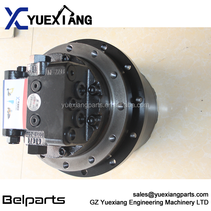 Excavator spare part hydraulic traveling devcice final drive GM07 travel motor for SH60 SH55 SH60-7 SH75 R60 DH55 SY60