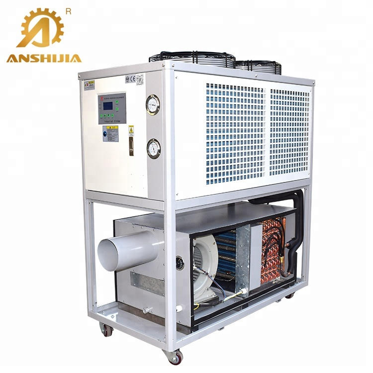 Famous Brand Low Price Customizable 50 Ton Air-Cooled Screw Air Chiller