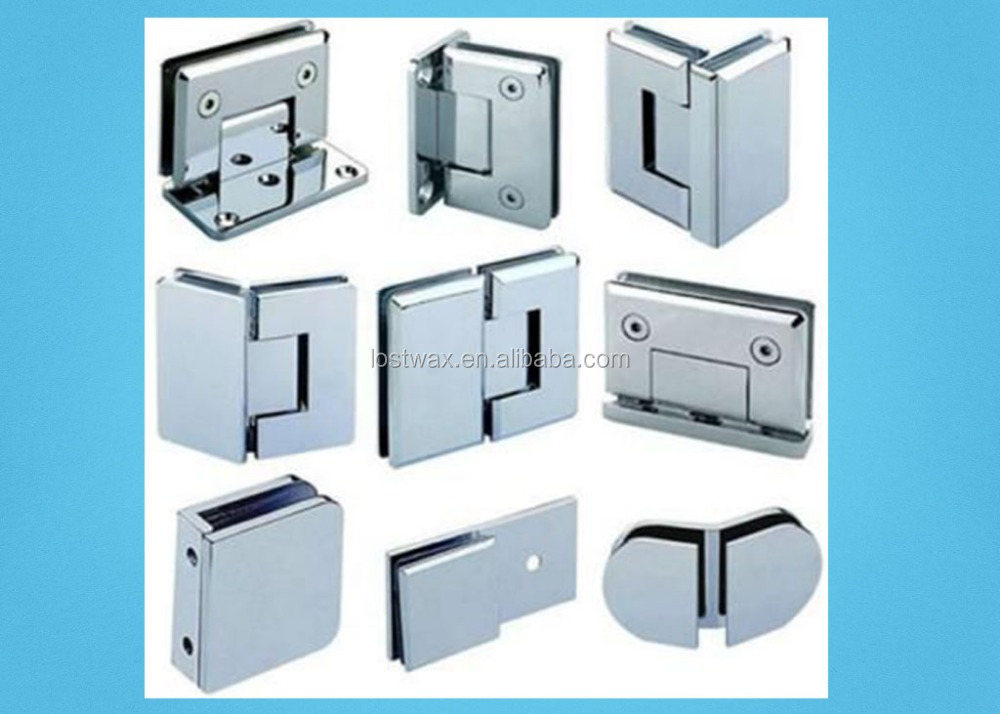 Precision Casting Glass Shower Door Hinge