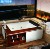 Double Whirlpool Spa Bathtubs Whirlpool Massage Tub With TV