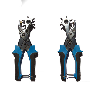 Professional Heavy Duty Easily Punches Perfect Round Holes - Multi Sized Puncher Pliers