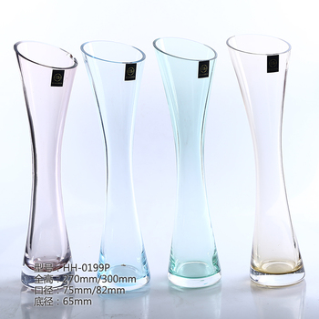 30cm High Shell Glass Vase For Wedding Table Centerpieces With