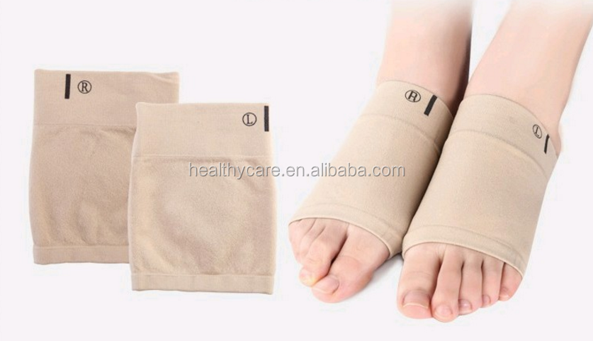 Breathable Heel Protector Silicone Gel Socks, Silicone Gel Heel Cushion