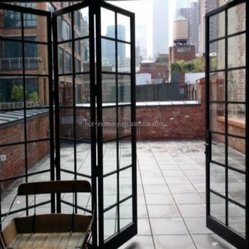 Elegant Decorative Iron Window Grill Design Steel Folding