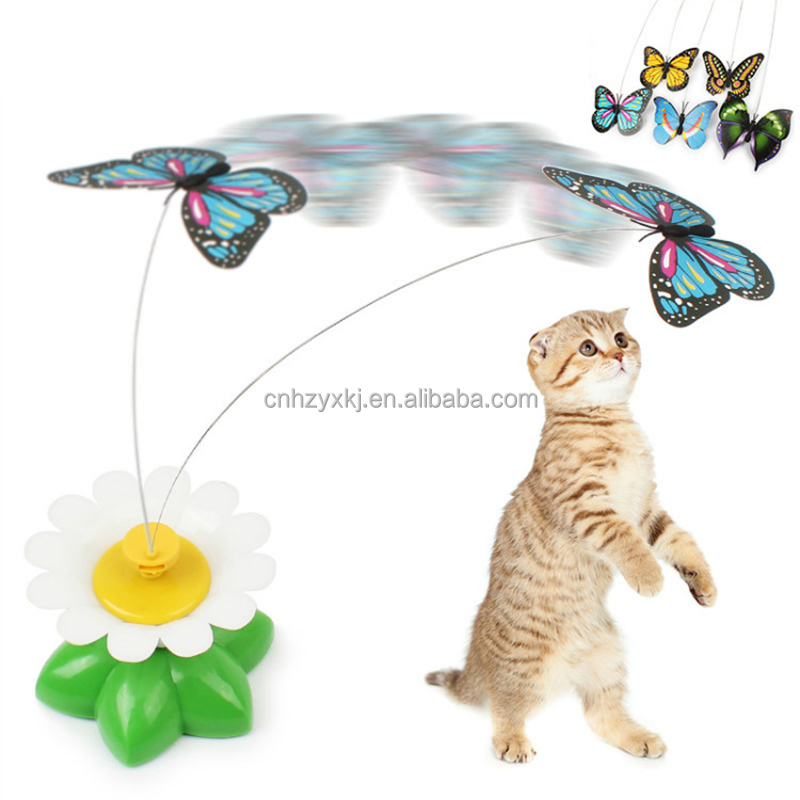 China Made Butterfly Interactive Puzzle Electric Cat Toy