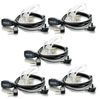 Retevis High Quality PTT MIC hidden Acoustic Tube In-ear Earpiece for Radio KENWOOD BAOFENG BF-888s HYT(5 pack)