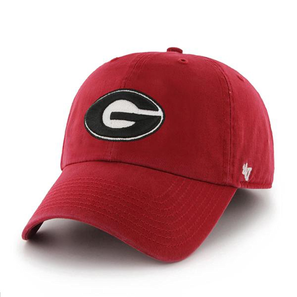 e0aeff99aef Buy 47 Brand Georgia Bulldogs White Fitted Franchise Hat in Cheap ...