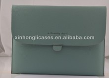new arrival Top quality See larger image Leather postcard pouchi envelop case bag for ipad 3