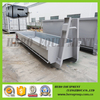 4m recycling metal garbage containers roll on roll off hook lift bin for sale