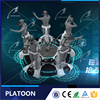 China Longmei vr cinema platoon dynamic motion rider system with htc vive