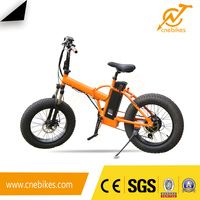hot sale mini 20inch fat tyre folding electric bike with 10Ah lithium battery
