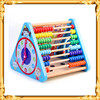 Nine wooden baby learning function calculate bead combination educational children's toys