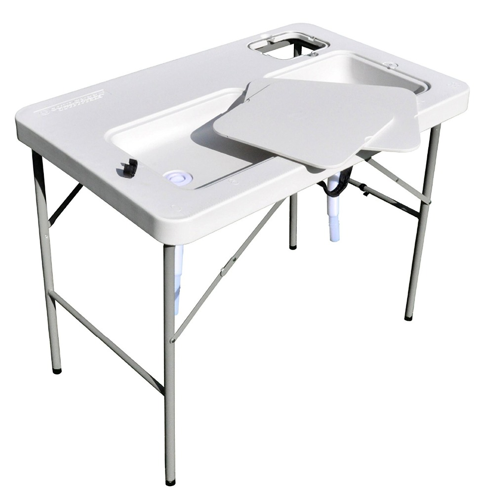 Hunting Stainless Steel Fish Cleaning Cutting Table View Fish Cleaning Table Pandaman Product Details From Hangzhou Pandaman Sports Products Co