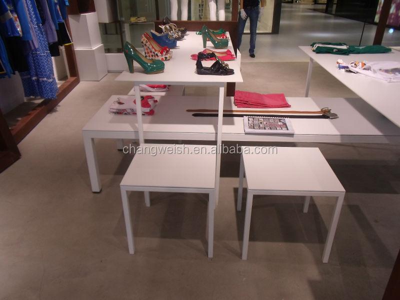 패션 소매 디스플레이 테이블/ 중첩 디스플레이 테이블 세트 ...