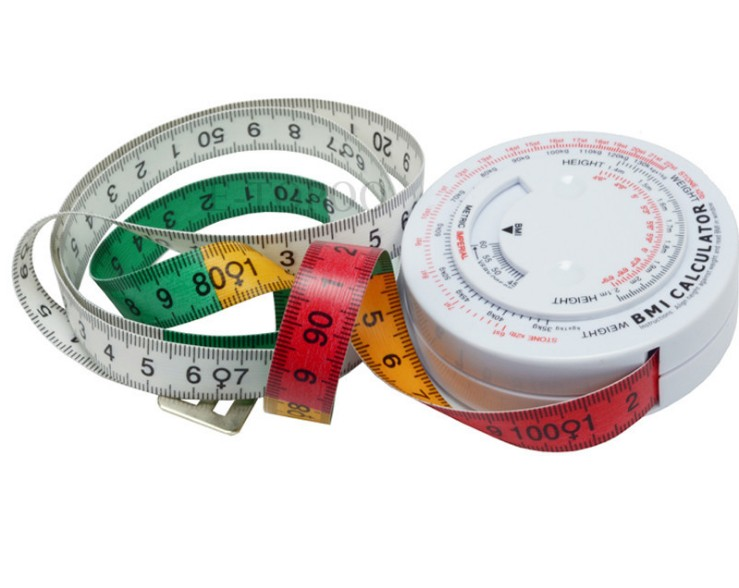 Promo retractable body fabric tape <strong>measure</strong>