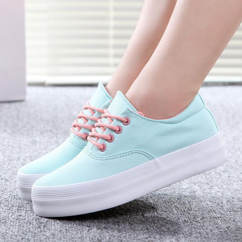 Baby Pink Platform Shoes