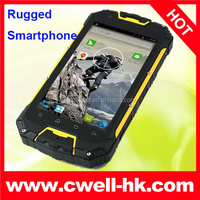 Android 4.2 MTK6589 Quad Core 3000Mah Battery waterproof android mobile phone