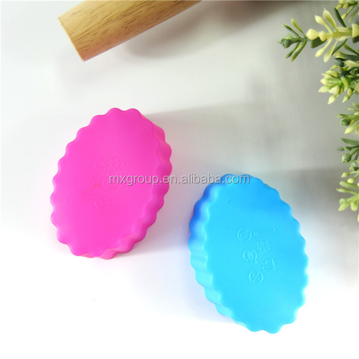 Microwave Oven Baking tool giant easter egg mould,Soap cake Cookies muffin cup Jelly pudding silicone giant easter egg mould