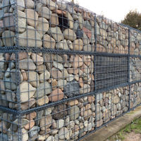 Hot-dipped Galvanized Welded Wire Mesh Gabion Fence