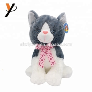 c9a9f2ce0a69 Black And White Stuffed Cat, Black And White Stuffed Cat Suppliers and  Manufacturers at Alibaba.com