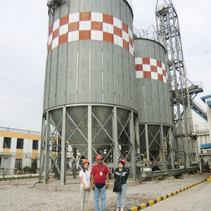 Professional Manufacturer 5 Ton Stainless Steel Small Grain Hopper Silo For Sale Price
