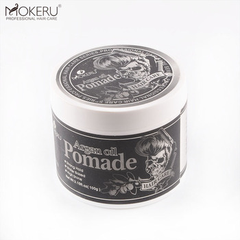 Free sample professional fiber hair wax gel hair styling wax form pomade super wax stick red one