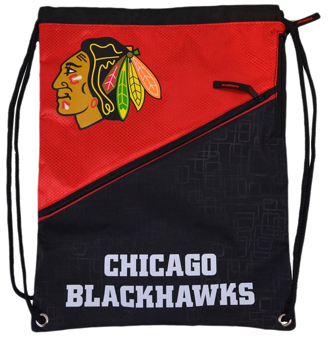 Official National Hockey League Fan Shop Padded Authentic Backpack/drawstring Bag. NHL High-end Drawstring Zipper Bag with Padded Back for Comfort. Great for Game Day, Tailgating or Everyday Use.