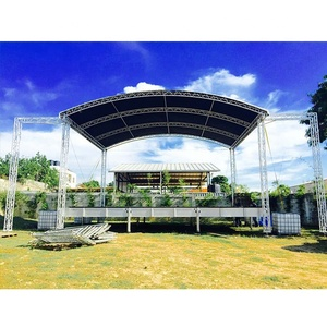 Outdoor Aluminum Arch Truss Roof from Shanghai