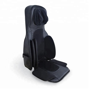 Bottom vibration heated massage cushion with tapping full body massage