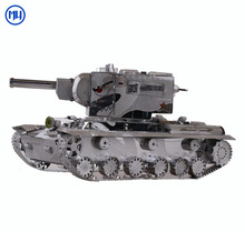 MU 3D Military Metal Tank Model KV-2 Construction kit model 3d diy assembling toys for Adults