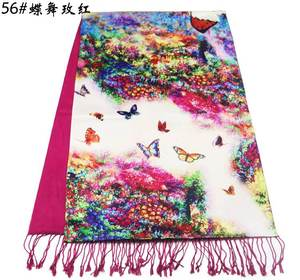 Online shopping cashmere women hijab silk scarf