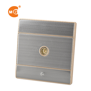 Television coaxial TV wall socket