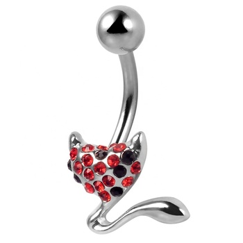 Cute Belly Button Ring Glue Gem Surgical Steel Navel Ring Barbell Belly Piercing Buy Barbell Belly Piercing Surgical Steel Piercing Navel Barbell