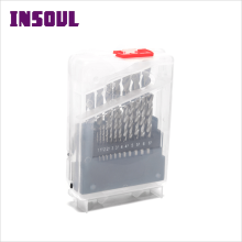 INSOUL High Quality Din German Shank Roll Forged HSS Drill Bits For Aluminum