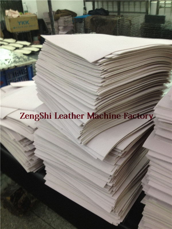 leather patch machine