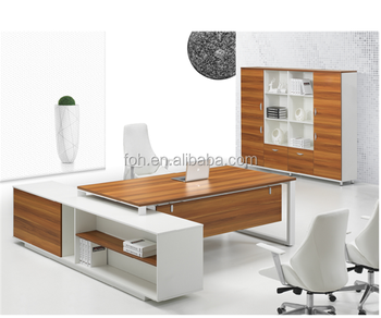 Small Executive Office Desk Office Furniture Manager Table Price(FOH HPBB24)
