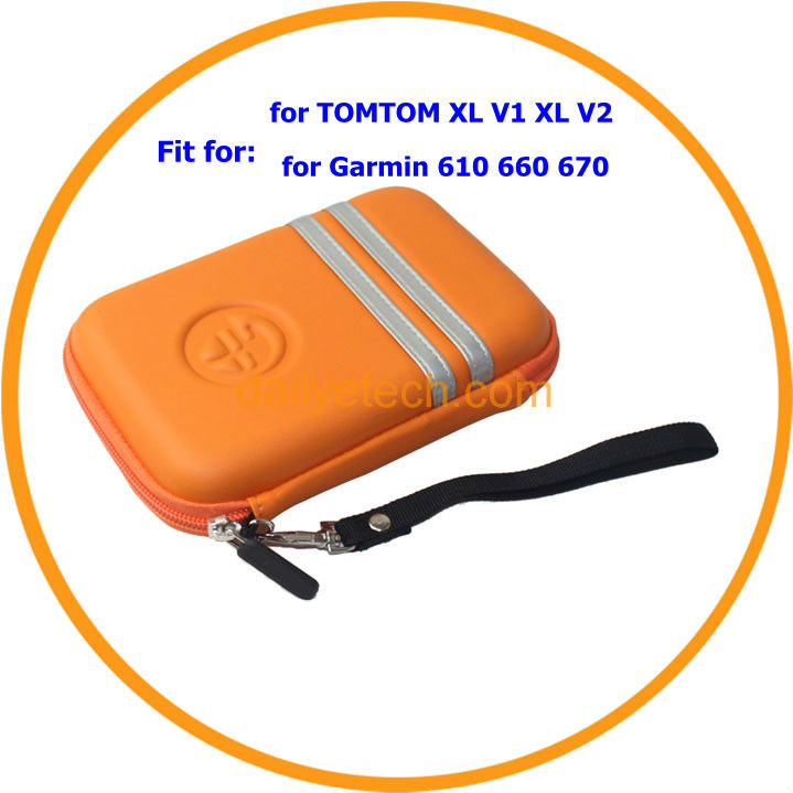 "PU + EVA GPS Hard Carry Case Cover for TomTom 5"" from dailyetech"