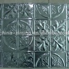 Special Chinese flowering crab-apple pattern metal ceiling panel / Elegant decoration materials