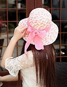 7cc253549bc Get Quotations · SUSU Women Straw Bow Fedora Hat
